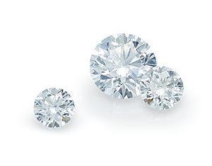 Diamonds are hard.